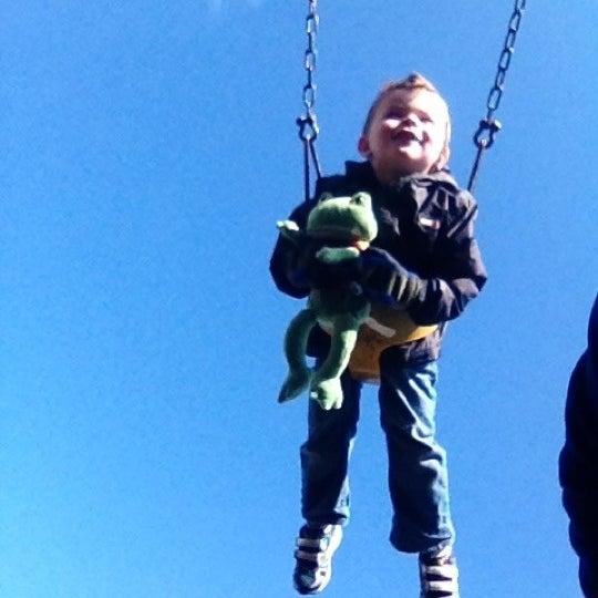 Photo taken at Annie's Playground by Mark P. on 11/5/2012