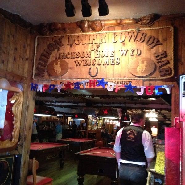Photo taken at Million Dollar Cowboy Bar by Patty M. on 7/2/2013