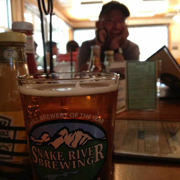 Photo taken at Snake River Brewery & Restaurant by Patty M. on 7/2/2013