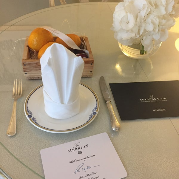 Photo taken at Merrion Hotel by Jennifer T. on 6/30/2017