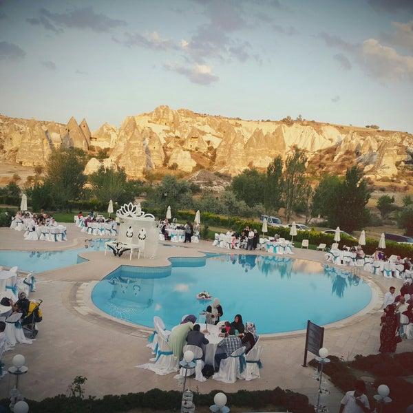 7/26/2017 tarihinde Hatice .ziyaretçi tarafından Tourist Hotels & Resorts Cappadocia'de çekilen fotoğraf