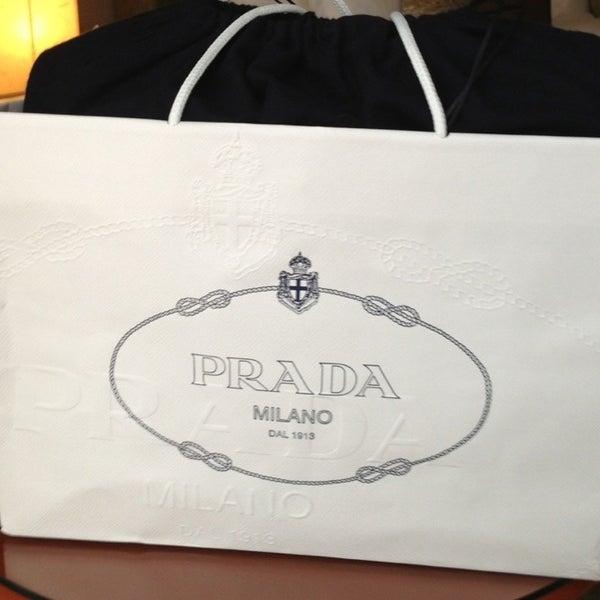 Photo taken at Prada by Ki Ki Y. on 4/25/2013