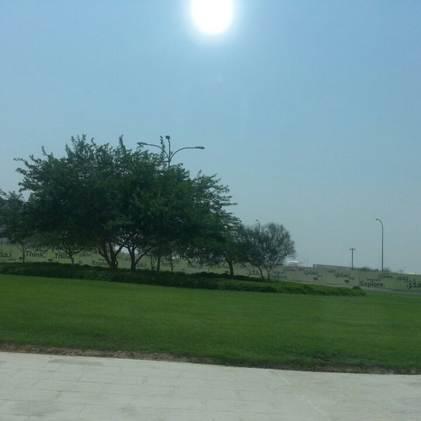 Photo taken at Qatar Science and Technology Park by Zumri A. on 8/22/2013