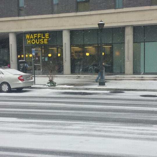 Photo taken at Waffle House by Josh M. on 1/28/2014