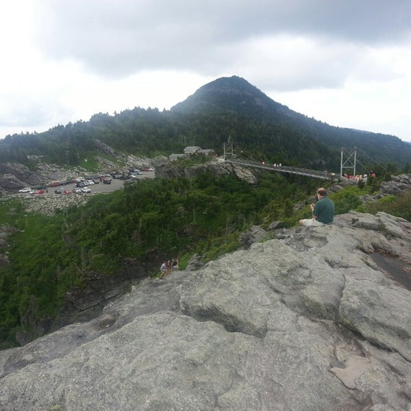 Photo taken at Grandfather Mountain by Kelly B. on 6/23/2013
