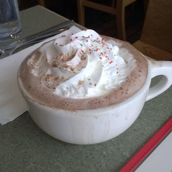 Mmmm hot chocolate