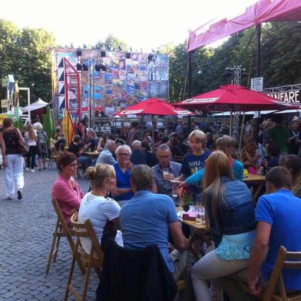 Photo taken at Festivalplein Theaterfestival Boulevard by Hans C. on 8/8/2013