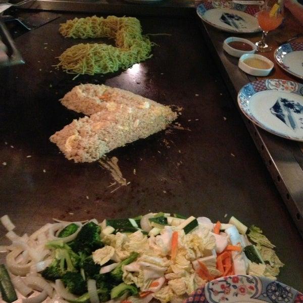 Photo taken at Mt. Fuji Japanese Steak House by Karen B. on 6/11/2013