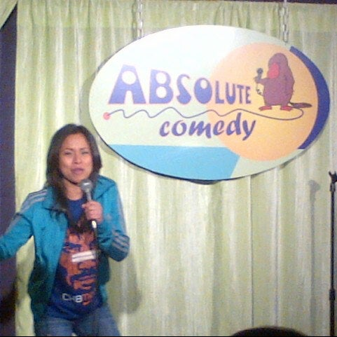 Photo taken at Absolute Comedy by Ronald P. on 12/17/2012