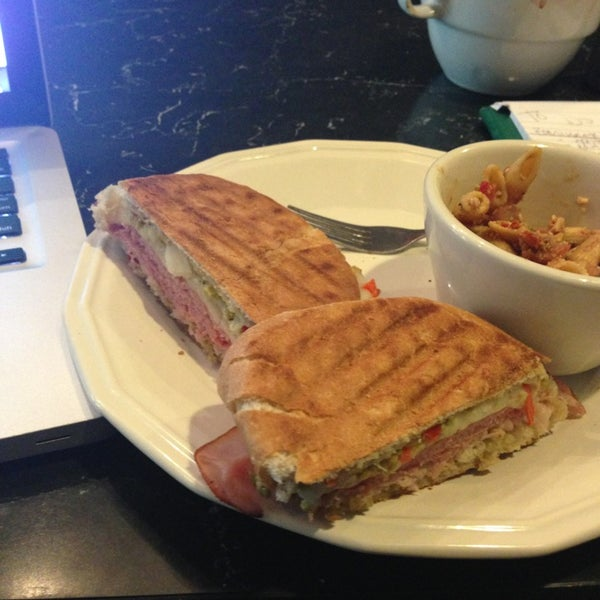 Super friendly staff, great coffee and even tastier food. You have the option of starting a tab here as well, which is just plain awesome.