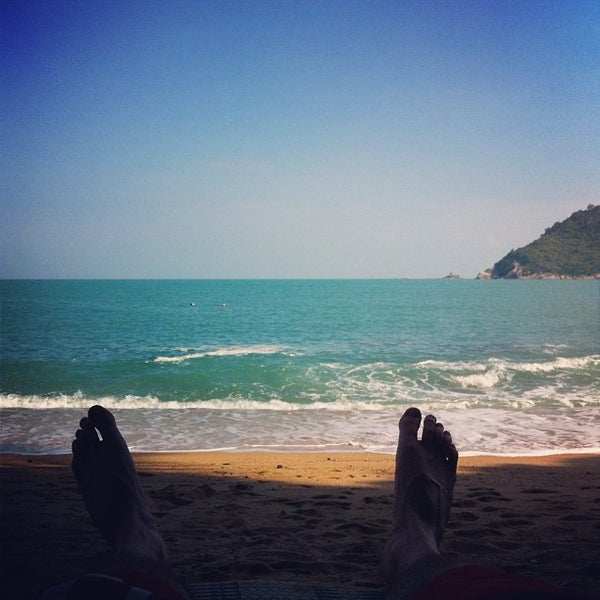 Photo taken at Santhiya Resort And Spa Koh Phangan by Ron G. on 12/27/2012