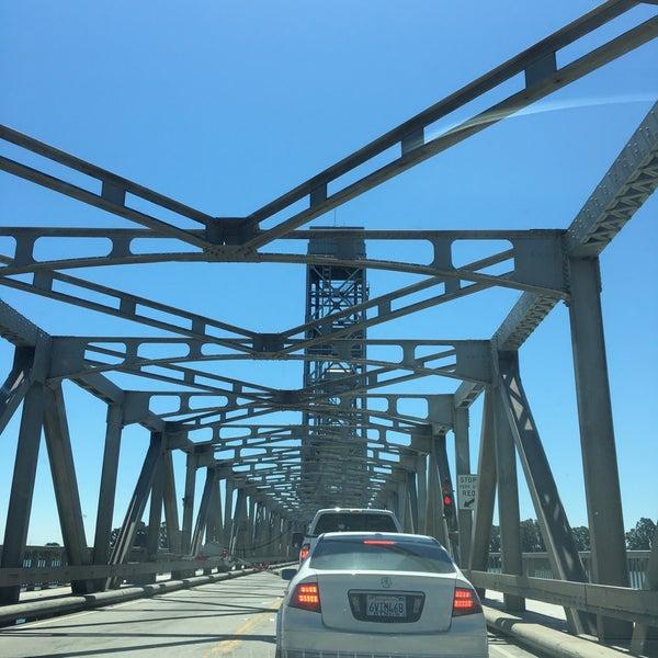 Photo taken at Rio Vista Bridge by Paul H. on 7/16/2016