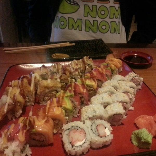 Photo taken at Yabi Sushi by Lori G. on 6/4/2013