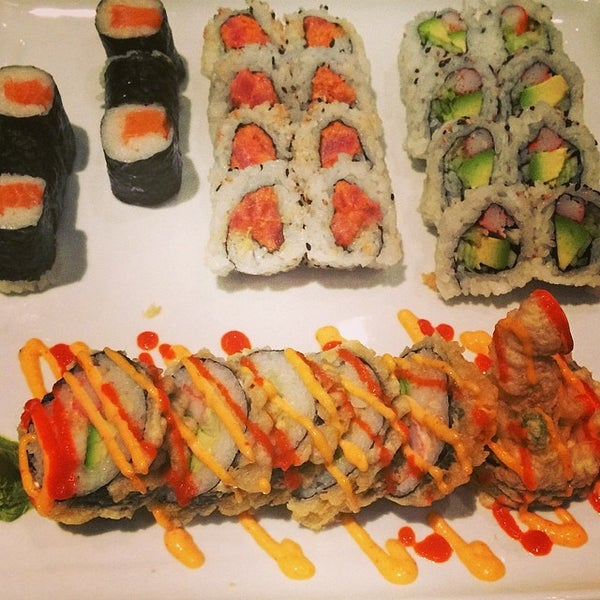 Photo taken at Sushi On The Rocks by Marianne H. on 6/1/2014