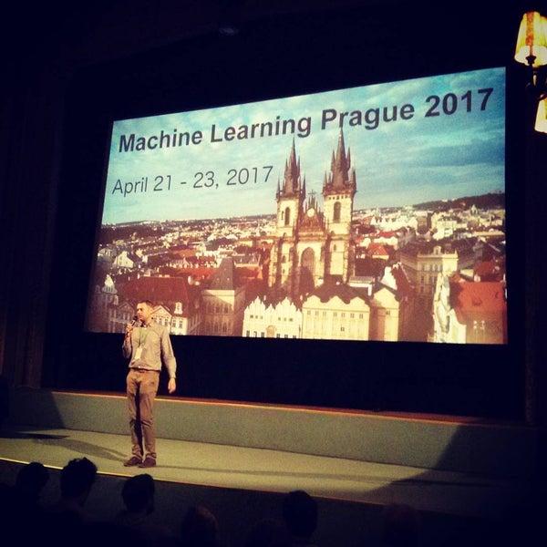 Photo taken at Palác Lucerna by Sergii K. on 4/22/2017