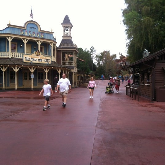 Photo taken at Frontierland by J'Deane R. on 12/7/2012