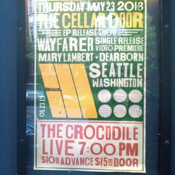 Photo taken at The Crocodile by Katy H. on 5/24/2013