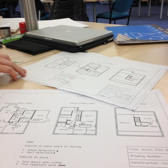 Photo taken at Northumbria University Library by Robbie W. on 12/6/2012