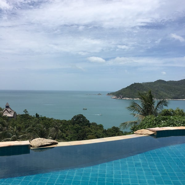 Photo taken at Santhiya Resort And Spa Koh Phangan by Laurent G. on 8/5/2016