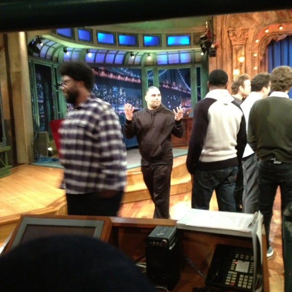 Photo taken at Late Night with Jimmy Fallon by California Girl on 2/25/2013