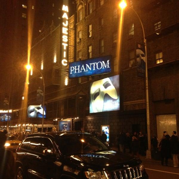 Foto tirada no(a) Majestic Theatre por Heric A. em 3/21/2013