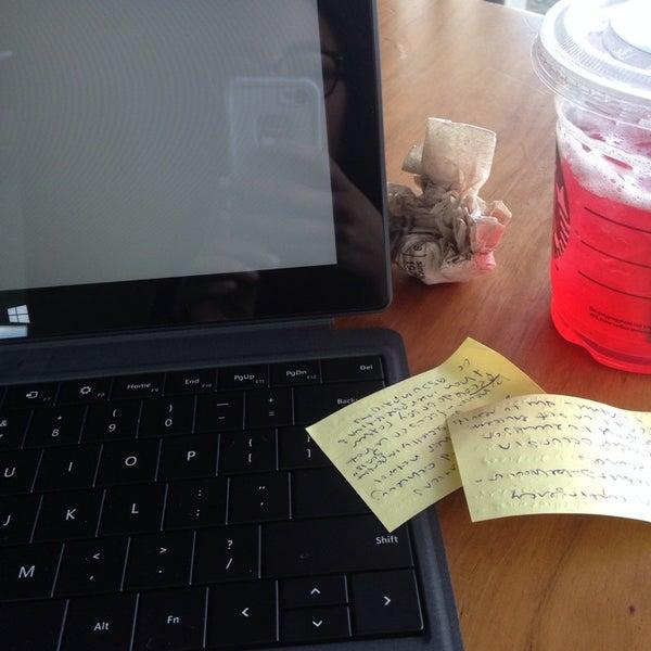 Photo taken at Starbucks by Nicole C. on 1/22/2014