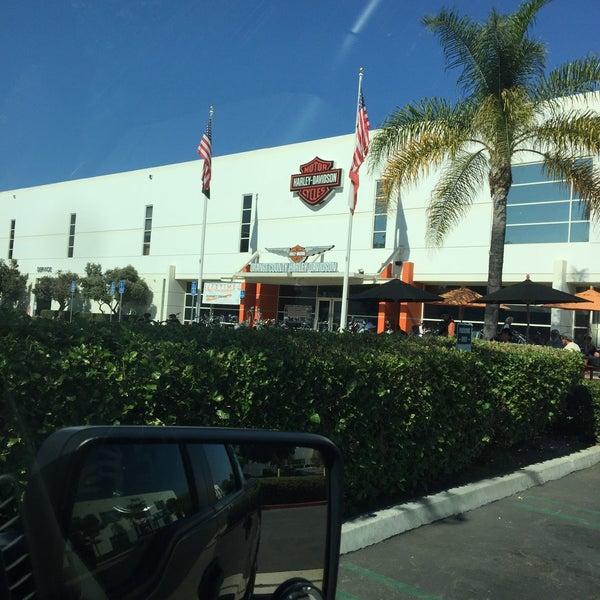 Photo taken at Orange County Harley-Davidson by Vivien H. on 10/28/2017