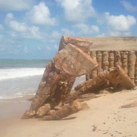 Foto tirada no(a) Praia Mirante da Sereia por #TIMBeta  Arley P. em 6/3/2013