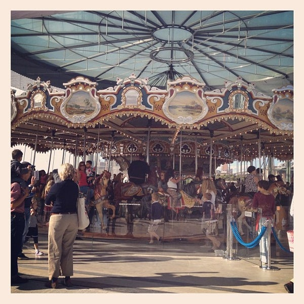 Photo taken at Jane's Carousel by Edgar P. on 9/26/2012