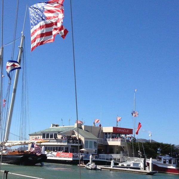 Photo taken at Golden Gate Yacht Club by Rachelle C. on 9/25/2013