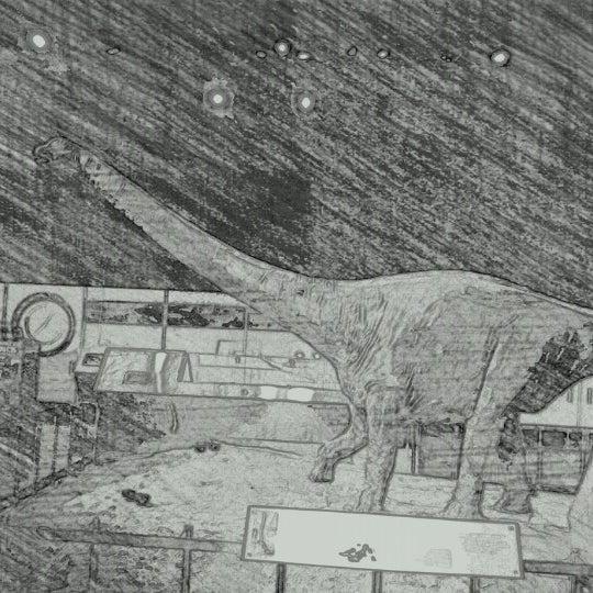 Photo taken at David H. Koch Dinosaur Wing by LonelyBob a. on 1/29/2013
