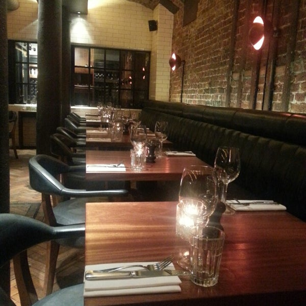 Photo taken at Hawksmoor Seven Dials by Peter I. on 5/31/2013