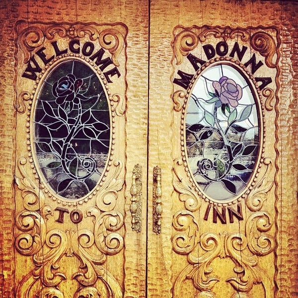 Photo taken at Madonna Inn by prairie rose f. on 6/10/2013