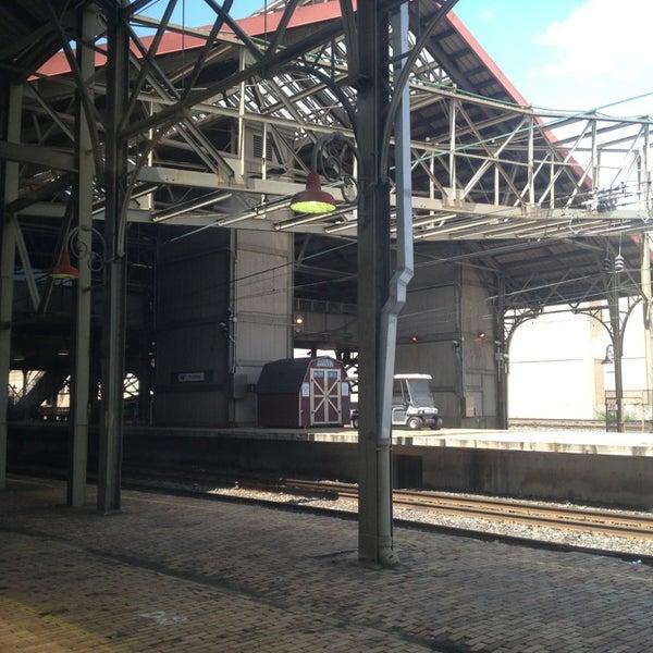 Photo taken at Amtrak: Harrisburg Transportation Center (HAR) by Kathleen H. on 6/8/2013