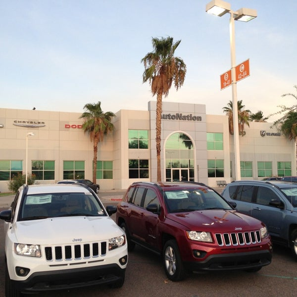 AutoNation Chrysler Dodge Jeep Ram North Phoenix