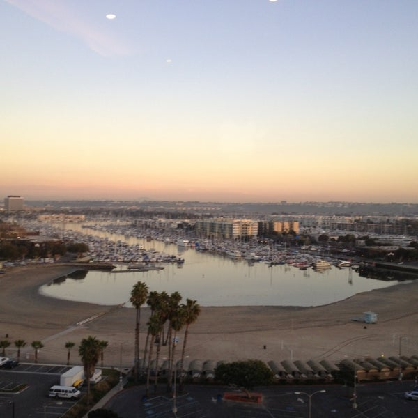Photo taken at Marina Del Rey Marriott by Michael T. on 1/9/2013