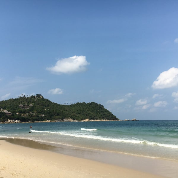 Photo taken at Santhiya Resort And Spa Koh Phangan by Benjamin J. on 3/11/2017