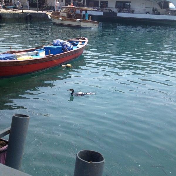 6/14/2014 tarihinde Gaye Süda E.ziyaretçi tarafından Çapari Restaurant'de çekilen fotoğraf