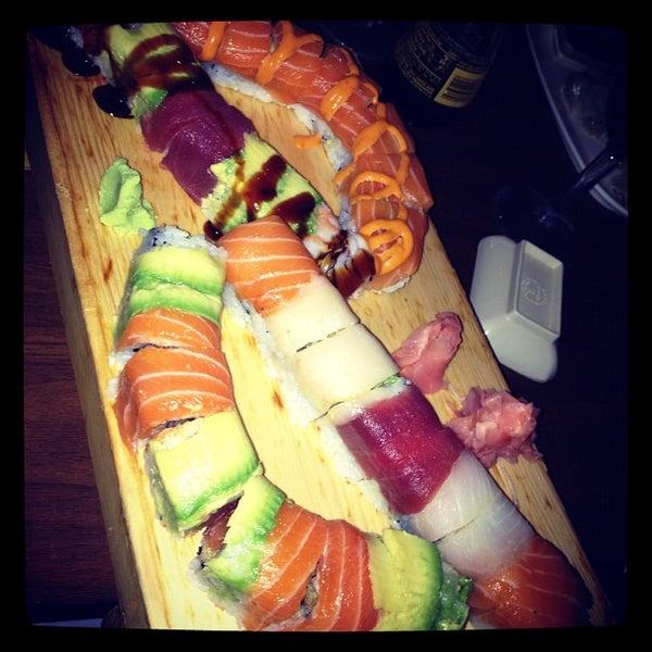 Photo taken at Cherin Sushi by Britney G. on 9/21/2012