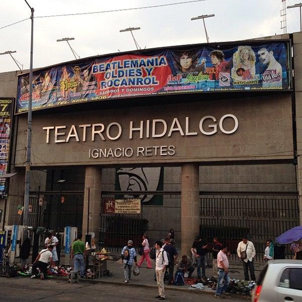 Foto tomada en Teatro Hidalgo por Antonio D. el 4/19/2013