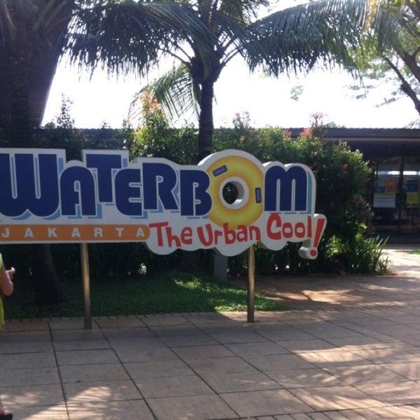 Photo taken at Waterbom Jakarta by nida s. on 8/13/2013