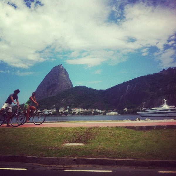 Photo taken at Flamengo Park by Fabio J. on 12/16/2012