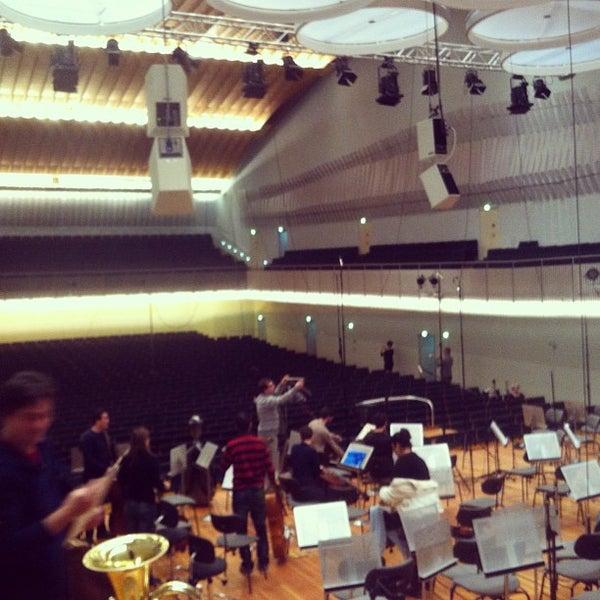 Photo taken at UdK Konzertsaal Bundesallee by Fabio J. on 1/3/2013