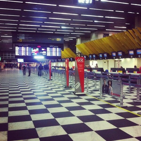 Снимок сделан в Международный аэропорт Конгоньяс/Сан-Паулу (CGH) пользователем Fabio J. 7/2/2013