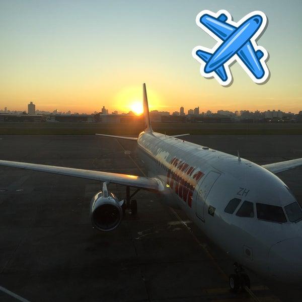 Снимок сделан в Международный аэропорт Конгоньяс/Сан-Паулу (CGH) пользователем Leo P. 6/8/2015