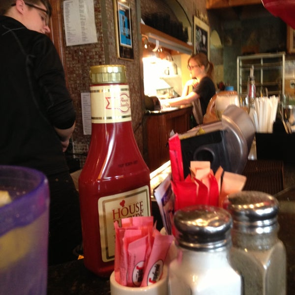 Photo taken at Main Street Bistro and Bakery by James P. on 4/27/2013