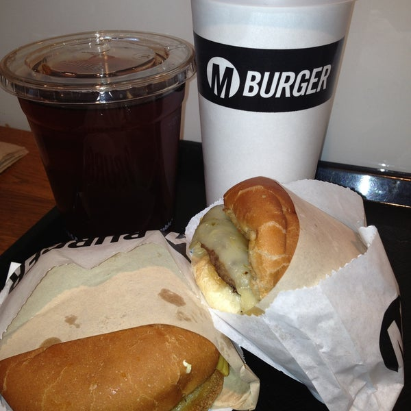 Photo taken at M Burger by Anne on 5/7/2013
