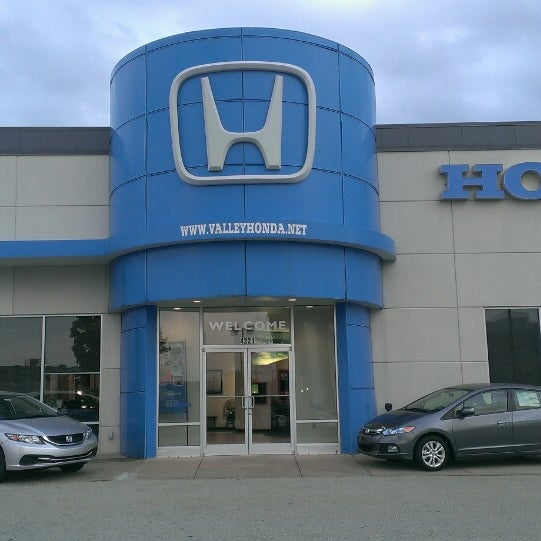 Photo Taken At Valley Honda By Jason D. On 8/27/2014