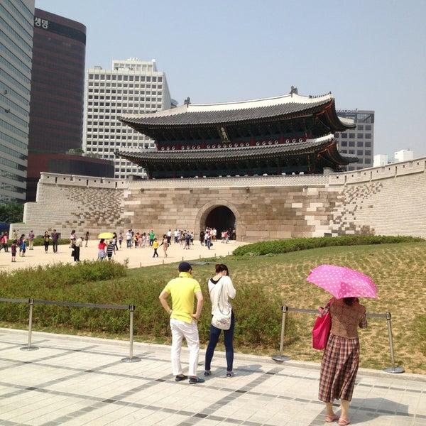 Photo taken at Sungnyemun by Lee M. on 5/25/2013