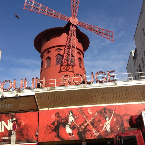Photo taken at Moulin Rouge by Joke V. on 2/16/2013